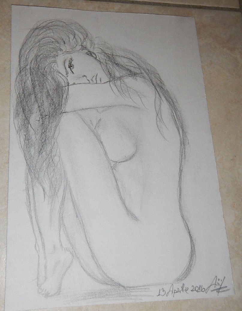 Hot girls nude drawings pics